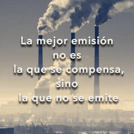 La mejor emisión no es la que se compensa, sino la que no se emite